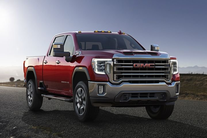 The 2020 GMC Sierra HD adds a more powerful diesel engine that can produce 445 hp and 910 lb.-ft. of torque.  - Photo courtesy of GM.