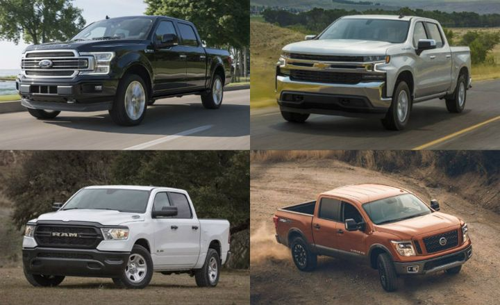 Sales of trucks, vans, and SUVs continue to drive robust sales to commercial fleets. - Photos courtesy of Ford, GM, FCA, and Nissan.