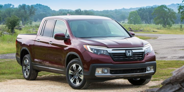Honda is recalling its 2019 Ridgeline (shown) and Pilot for an air-bag deployment defect.