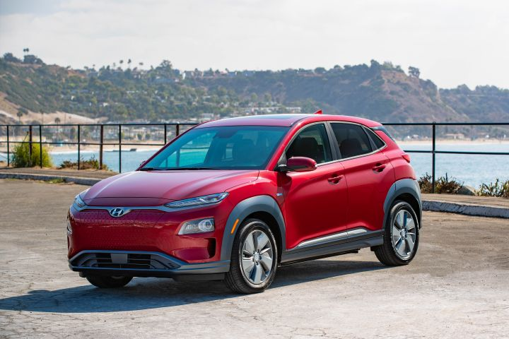 Hyundai's 2019 Kona Electric should deliver 258 miles of all-electric range when it goes in sale early next year in California.  - Photo courtesy of Hyundai.