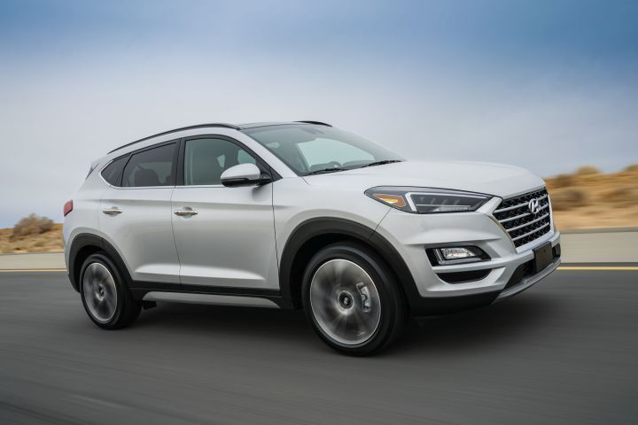 Hyundai's facelifted 2019 Tucson adds several standard advanced safety features, including automatic emergency braking.