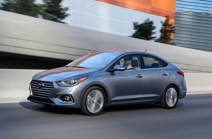 Hyundai's 2020 Accent adds a more efficient powertrain that significantly improves fuel economy.  - Photo courtesy of Hyundai.