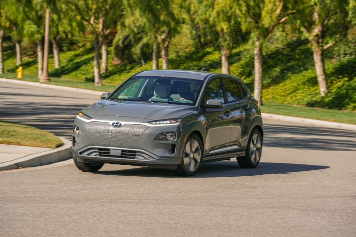Hyundai has priced its 2019 Kona Electric so buyers can acquire it for less than $30,000 with the federal tax incentive.  - Photo courtesy of Hyundai.
