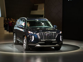 Hyundai'sthree-row 2020Palisade will arrive this summer as the automaker'snew flagship SUV.