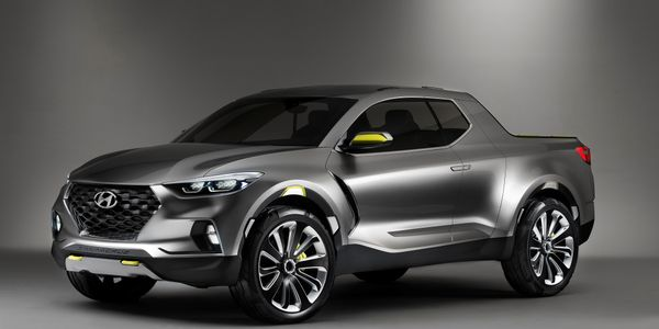 Hyundai will begin producing its Santa Cruz pickup in 2021 in Alabama.