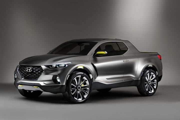 Hyundai will begin producing its Santa Cruz pickup in 2021 in Alabama. - Photo courtesy of Hyundai.