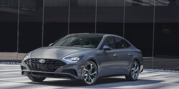 The 2020 Sonata, which is entering its eighth generation, is eligible for a $1,500 fleet...