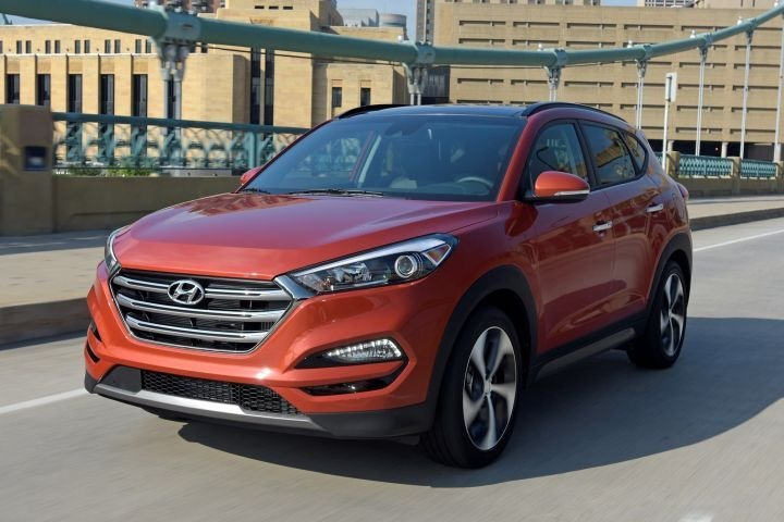 The 2017 Hyundai Tucson (shown) recorded the lowest average repair cost of $67.  - Photo courtesy of Hyundai.