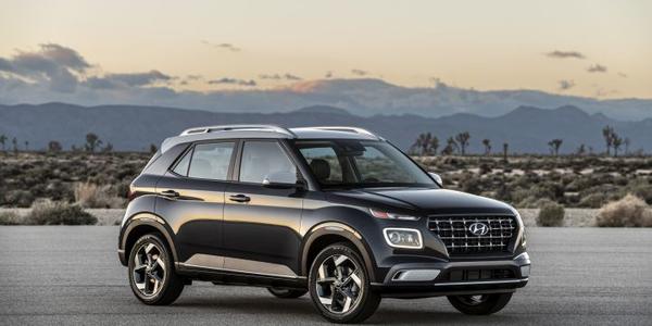Hyundai's 2020 Venue slots under the Kona as the brand's entry SUV.