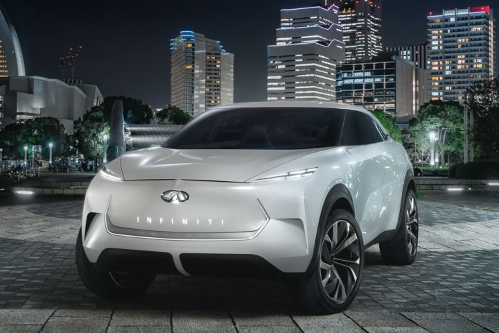 Infiniti will unveil a battery-electric concept crossover on Jan. 14.
