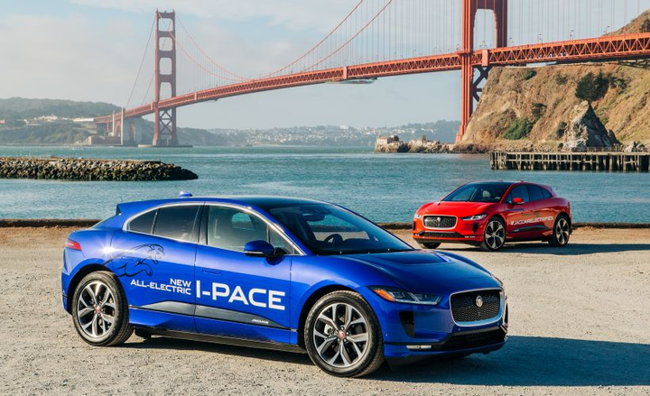 The 2019 Jaguar I-Pace will arrive at dealer lots in November to challenge other high-end battery-electric luxury vehicles.  - Photo courtesy of Jaguar Land Rover.