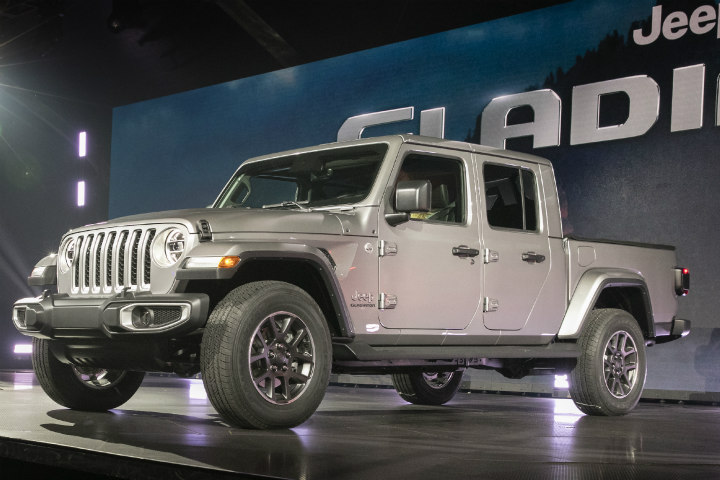 The 2020 Jeep Gladiator will compete against a crop of other midsize pickups in one of the industry's mostcompetitive segments.  - Photo courtesy of FCA.