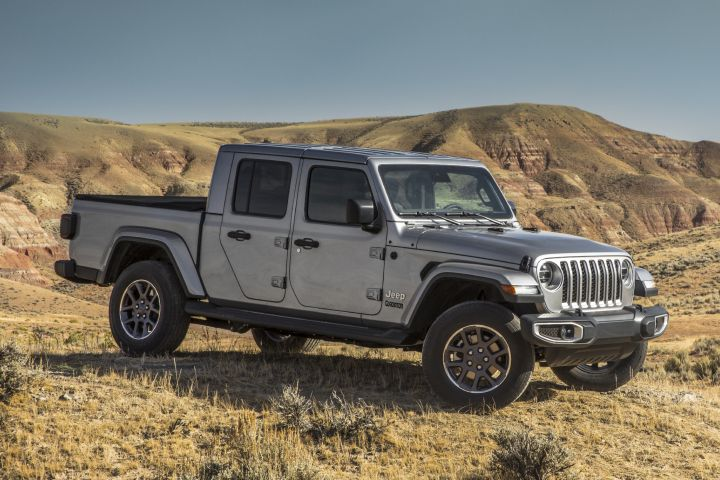 FCA will eventually offer a diesel-powered Jeep Gladiator, which debuts as a 2020 model.  - Photo courtesy of FCA.