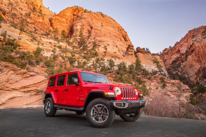 The diesel-powered 2020 Jeep Wrangler will go on sale by the end of the year. - Photo courtesy of FCA.