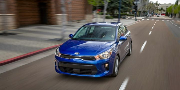 Kia Rio Captures 2018 Top Safety Pick+