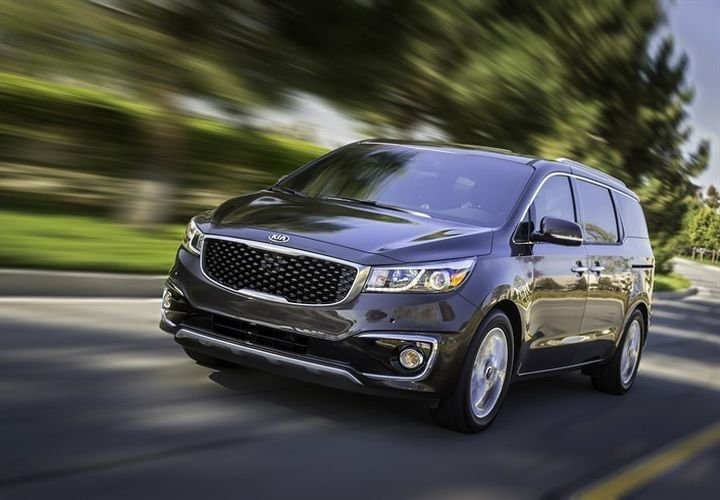 Kia's Sedona minivan was its top-selling vehicle to commercial fleets for 2018.