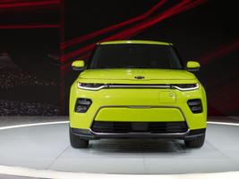 The Soul EV will come with a 64-kWh lithium-ion battery that should help it achieve a range...