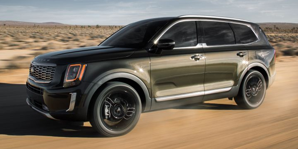 Kia's 2020 Telluride is a large three-row SUV with room for eight that should complete against...