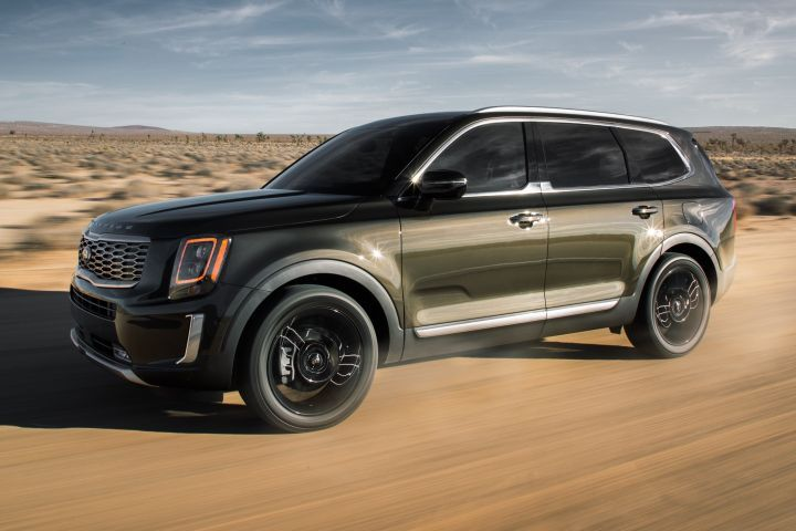 Kia's 2020 Telluride is a large three-row SUV with room for eight that should complete against the Chevrolet Tahoe.