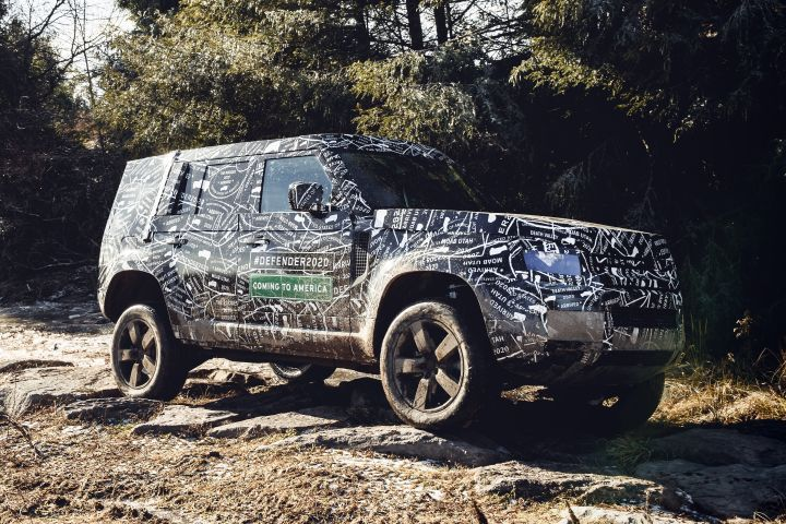 Land Rover will announe full details about its next-generation Defender large SUV later this year.  - Photo courtesy of Land Rover.