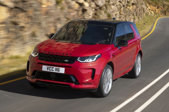Land Rover's refreshed 2020 Discovery Sport will add two powertrains.  - Photo courtesy of JLR.