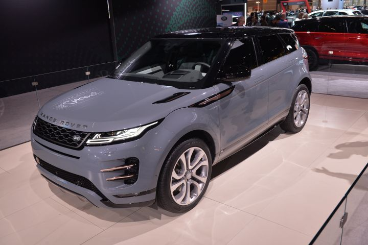 The 2020 Range Rover Evoque made its U.S. debut at the Chicago Auto Show.