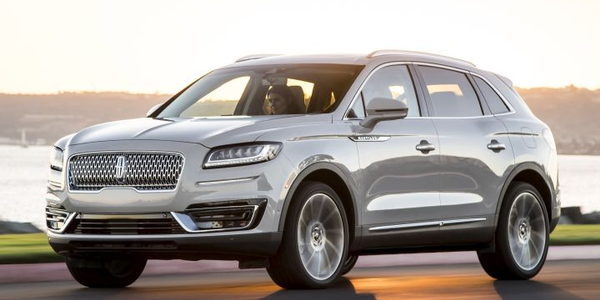 Ford is recalling 2019 Lincoln Nautilus SUVs equipped with lane-centering assist and adaptive...