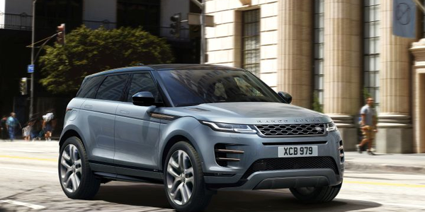 Land Rover's 2020 Range Rover Evoque is entering its second generation with a Velar-ish redo.