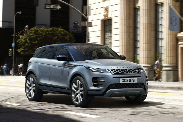 Land Rover's 2020 Range Rover Evoque is entering its second generation with a Velar-ish redo.  - Photo courtesy of Land Rover.