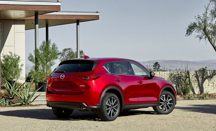 Mazda's planned diesel CX-5 has received fuel economy ratings that are similar to the gasoline model.  - Photo courtesy of Mazda.