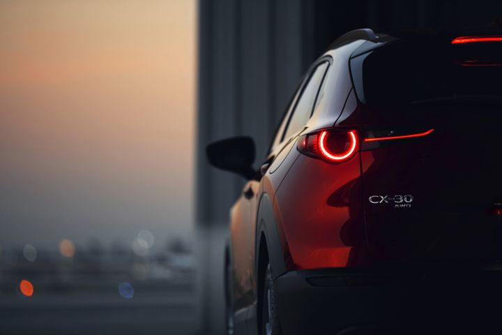 Mazda will offer a compact SUV that slots between its CX-3 and CX-5 called the CX-30. - Photo courtesy of Mazda.