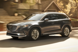 Mazda's 2019 CX-9 Nabs Highest IIHS Safety Award