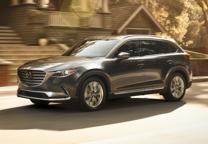 The 2019 Mazda CX-9 has retained its Top Safety Pick+ status with the IIHS.  - Photo courtesy of Mazda.