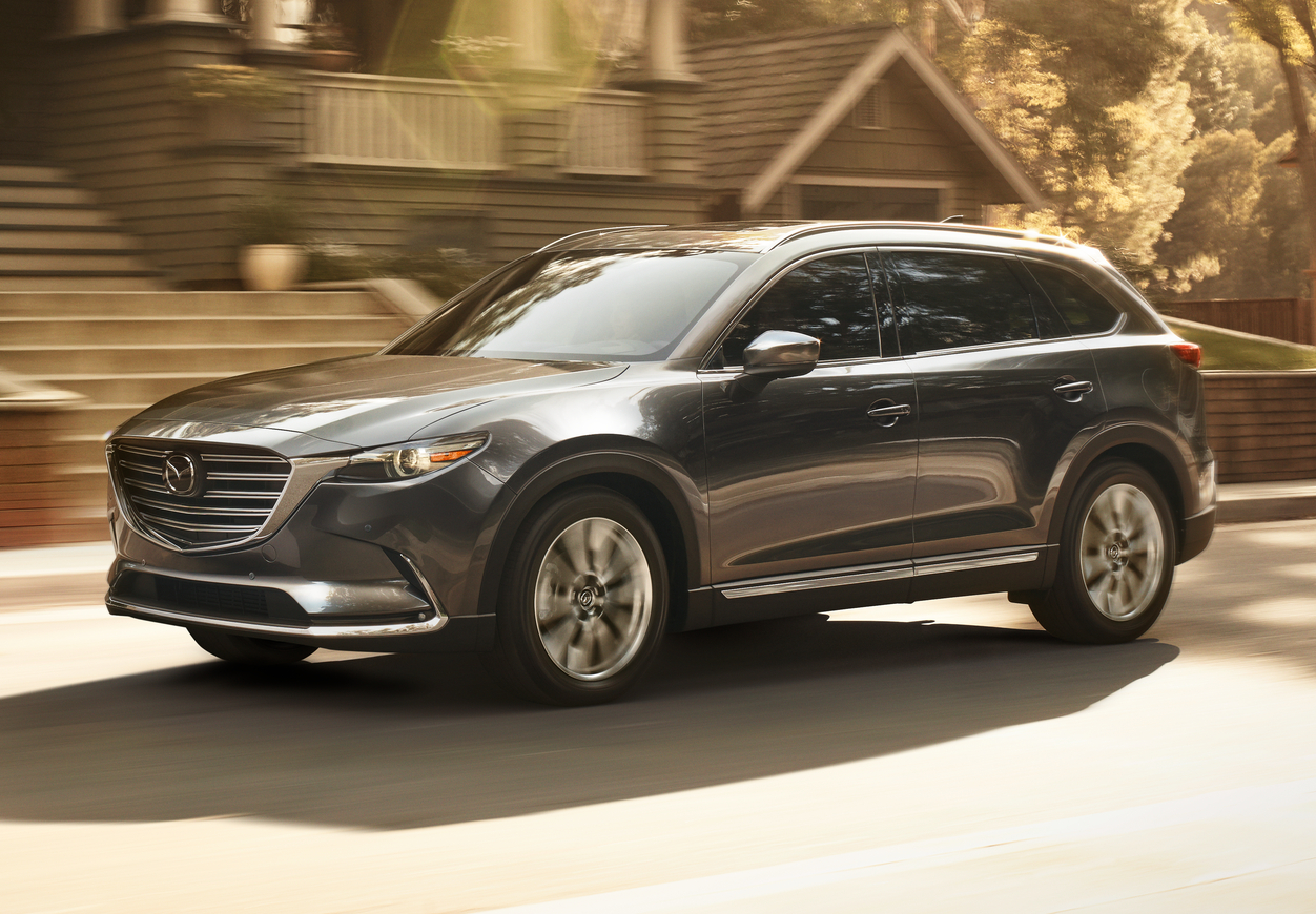 Mazda CX-9 Recalled for Tire Tread Issue