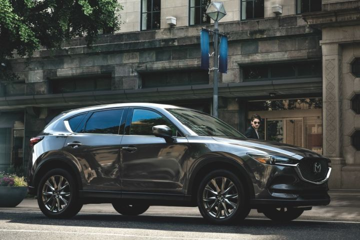 Mazda's 2019 CX-5 powered by a 2.2L turbodiesel went on sale with its debut at the New York auto show.  - Photo courtesy of Mazda.