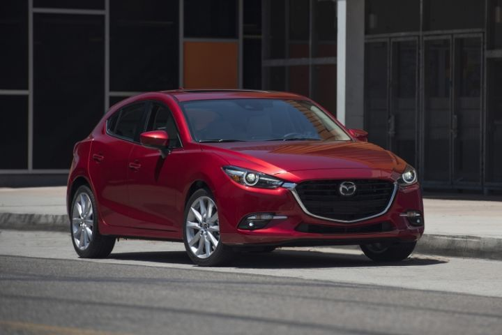 Mazda has recalled its Mazda3 (2017 model shown) for a defect involving the windshield wipers.