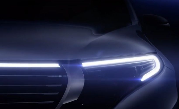 Mercedes-Benz will introduce its EQ C electric crossover on Sept. 4.  - Photo courtesy of MBUSA.
