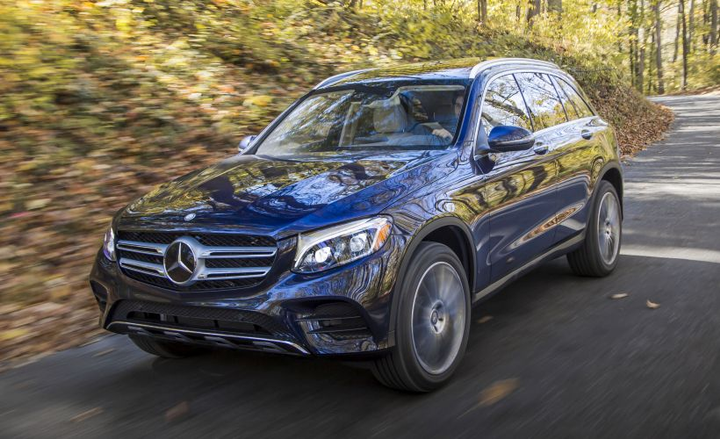 Mercedes-Benz is recalling its 2016-2018 GLC for a possible seat-belt defect.  - Photo courtesy of Mercedes-Benz USA.