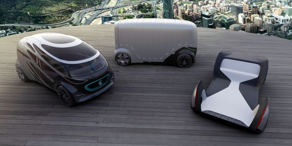 Mercedes-Benz Vans has developed three mobility concept vehicles that show the possibilities of...