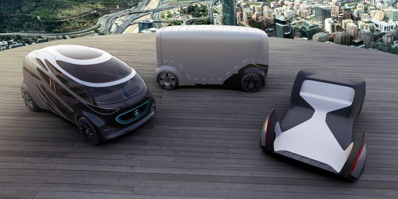 Mercedes-Benz Vans Shows Mobility Concept Vehicles
