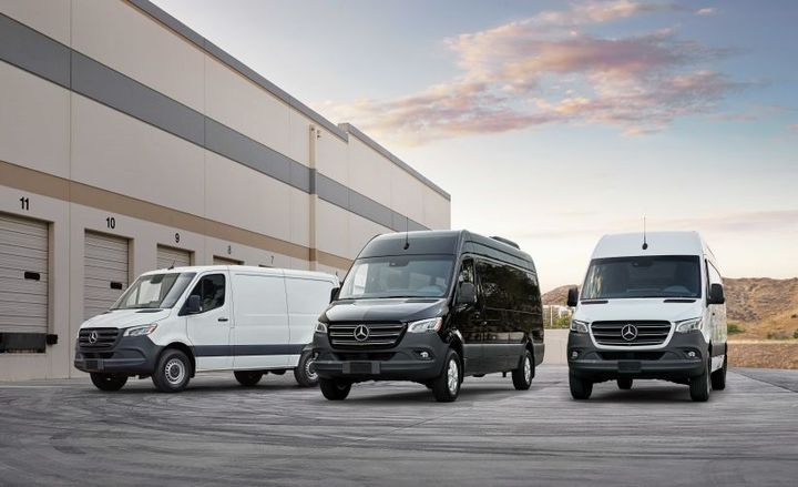 Mercedes-Benz has announced pricing for its 2019 Sprinter van.  - Photo courtesy of Mercedes-Benz.