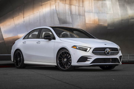 2019 Mercedes-Benz A-Class Sedan Arrives