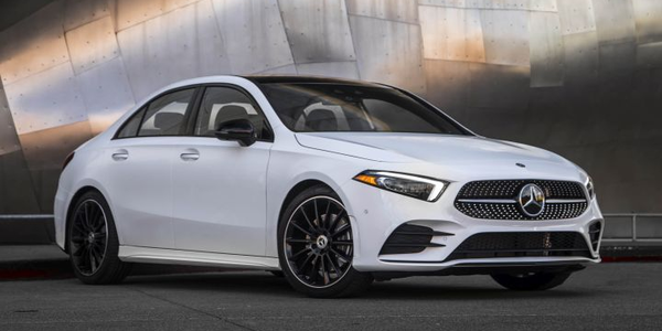 Mercedes-Benz will begin offering a corporate incentive for its new 2019 A-Class entry luxury...