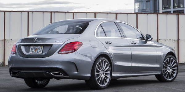Mercedes-Benz USA has recalled its 2019 C-Class (shown) and 2018 S-Class for a software defect...
