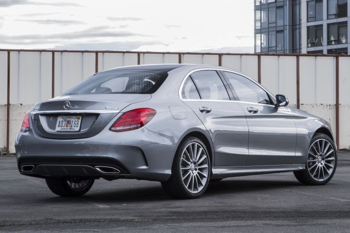 Mercedes-Benz has recalled its 2017 and 2018 C-Class (shown) and E-Class because the front seat's back may not lock.