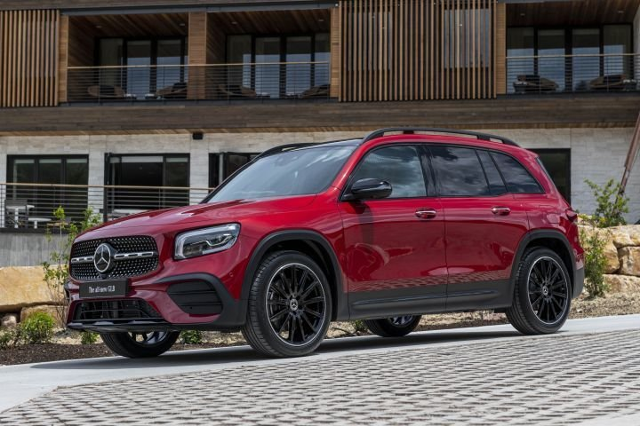Mercedes-Benz is introducing the new GLB compact crossover with a third-row option.  - Photo courtesy of MBUSA.