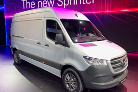 Sprinter Vans Recalled for Air Bags