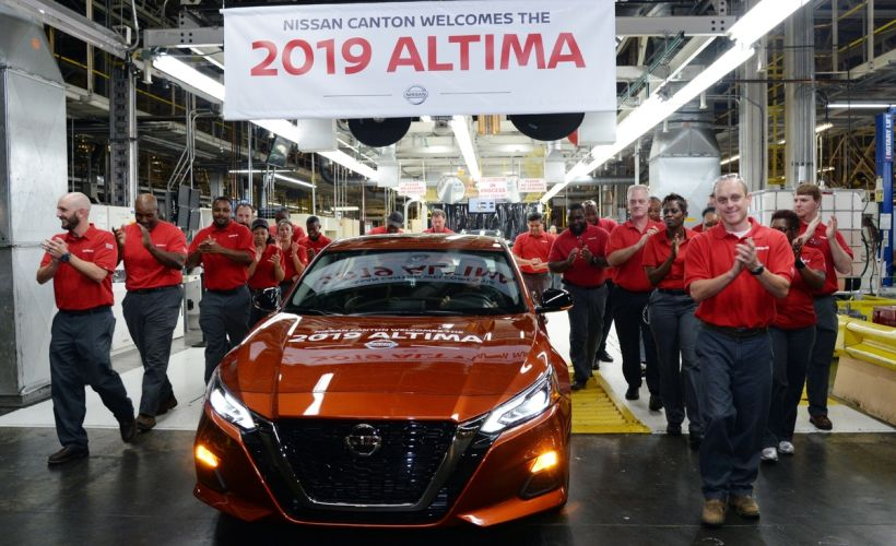 2019 Nissan Altima Retails for $24,645