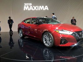 Nissan's 2019 Maxima will add the Safety Shield 360 bundle in a midcycle refresh.
