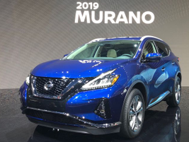 Nissan's 2019 Murano will add the Safety Shield 360 bundle in a midcycle refresh.